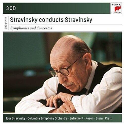 Stravinsky - Igor Stravinsky Conducts Stravinsky - Symphonies [New CD]