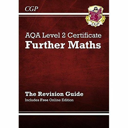 1 of 1 - AQA Level 2 Certificate in Further Maths - Revision Guide