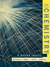 Chemistry: A Guided Inquiry Moog, Richard S., Farrell, John J. Paperback