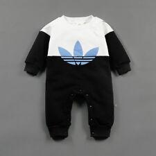 155e9eab432c5 Baby Newborn Boy Girl Winter Wool Thicken Romper Toddler Infant Warm Body  Suit