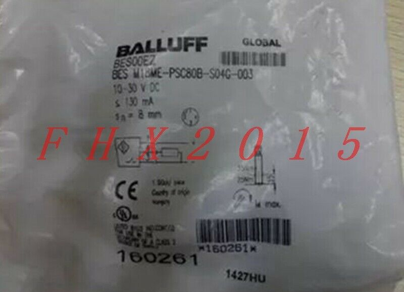 ONE NEW BALLUFF BES M18ME-PSC80B-S04G-003