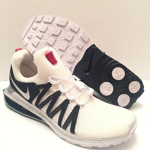 5eeec8c323ea29 Nike Shox Gravity White Silver Navy AR1999-104 Shoes Dallas Cowboys ...