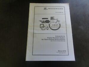 Woodward-Kubota-Kit-3A-Engine-Shutdown-System-for-70mm-82mm-Service-Manual