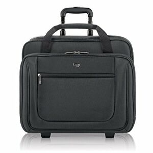 Image Is Loading Rolling Laptop Case 17 3 Inch Bag With