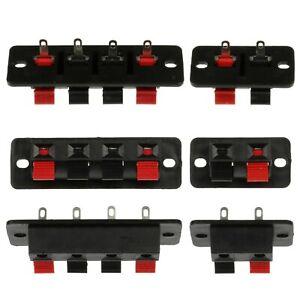 2-4-pin-Plastic-Speaker-Spring-Terminal-Block-Clips-2p-4p-Wire