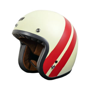 CASCO JET ORIGINE PRIMO JACK MATT RED-WHITE