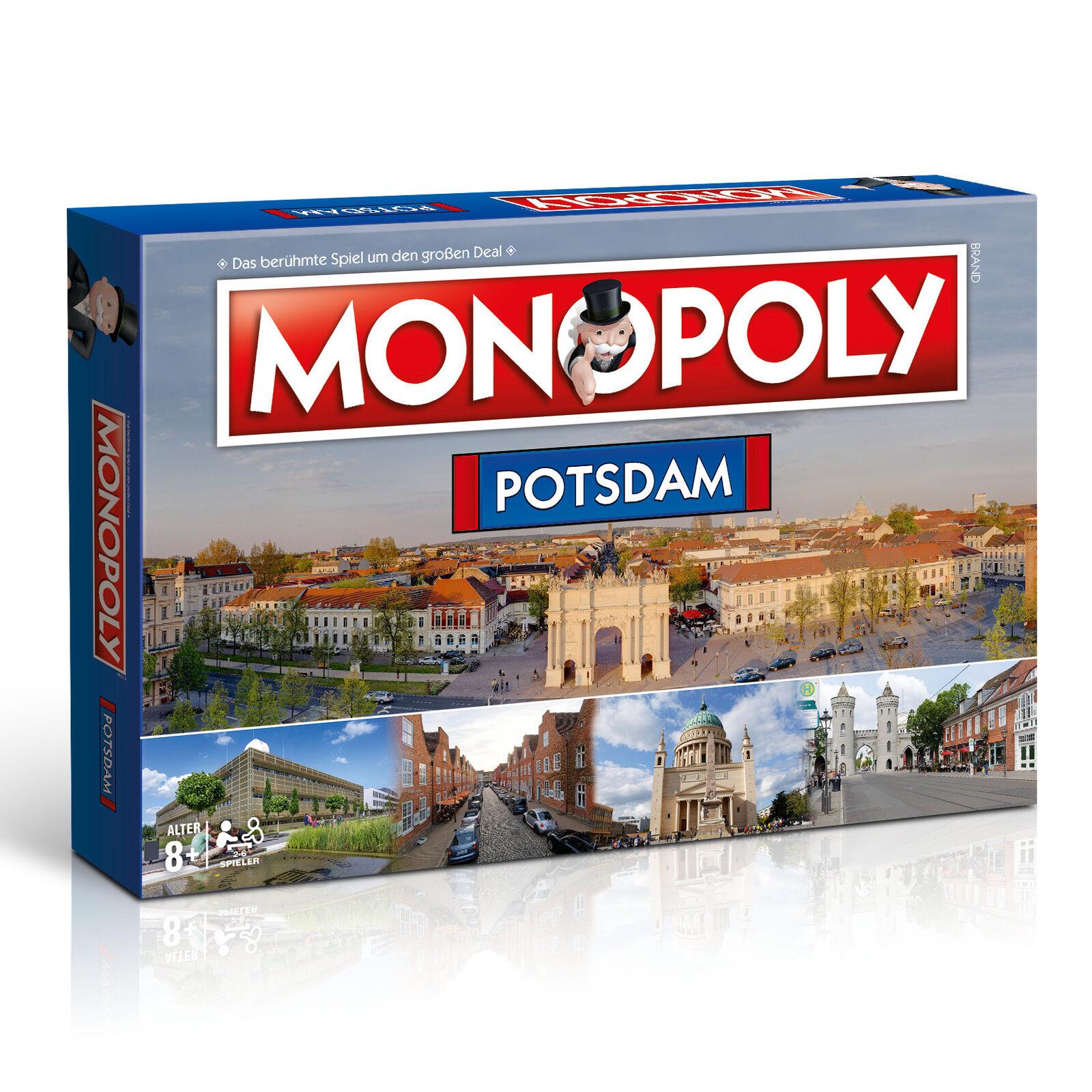 Monopoly Potsdam City Stadt Edition Spiel Gesellschaftsspiel Brettspiel