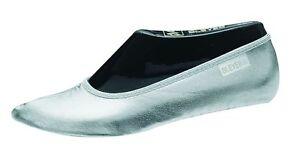 BLEYER Bauchtanzschuhe Gymnastikschuhe orientalischer Tanz-Schuhe, silber (37)