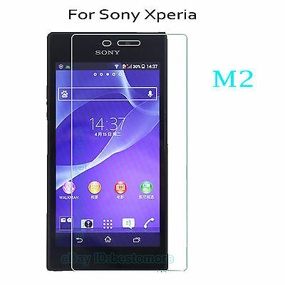 2PCS 9H Tempered Glass Screen Film Protector Cover For Sony Phone Clear Thin