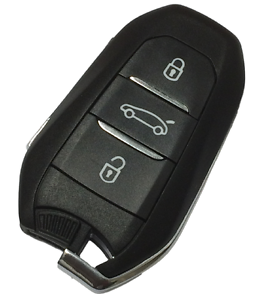 OEM 3 Button Remote Key Fob 434Mhz FOR Citroen DS5 (2011-2016) With VA2 Blade