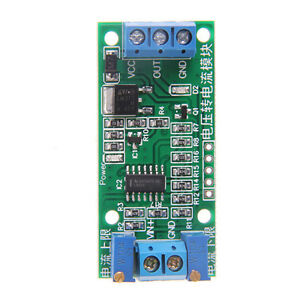 Voltage to Current Convert  0-5V To 4-20mA Linear Transmitter Signal Module