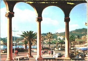 RAPALLO-SCORCIO-PANORAMICO-GENOVA-LIGURIA-Viaggiata-1967