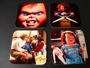 Child-039-s-Play-Chucky-Great-New-COASTER-Set