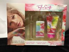 Taylor Swift Incredible Things 3 Pcs Gift Set Perfume Bath GEL Body Lotion