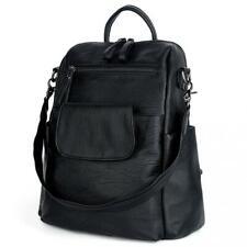 UTO Women Backpack Purse 3 ways Oxford Waterproof Cloth Nylon Ladies Rucksack Shoulder Bag Grey A CA