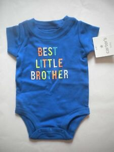9c7f71ebb Image is loading NWT-CARTERS-BEST-LITTLE-BROTHER-SHORT-SLEEVE-SHIRT-