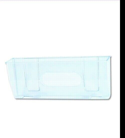 Deflecto Oversized Magnetic Wall File Pocket Legal//Letter Clear 50101