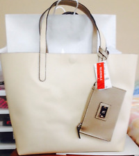Reversible Tote with Wristlet Shell Metallic Cork MSRP $88 NEW Style /& Co