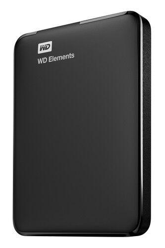WD  Elements 4TB Portable External Hard Drive, USB 3.0 (WDBU6Y0040BBK-WESN), New