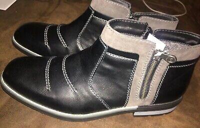 RIEKER Stiefelette Schuhe Gr. 43 Neu Schwarz   eBay