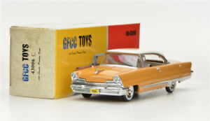 Amarillo-claro-gfcc-Juguetes-1-43-1956-Lincoln-Premiere-Coupe-Aleacion-Coche-Modelo