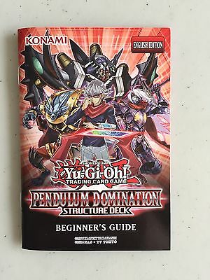 Beginner/'s Guide Pendulum Domination Structure Deck Yu-Gi-Oh! Yugioh