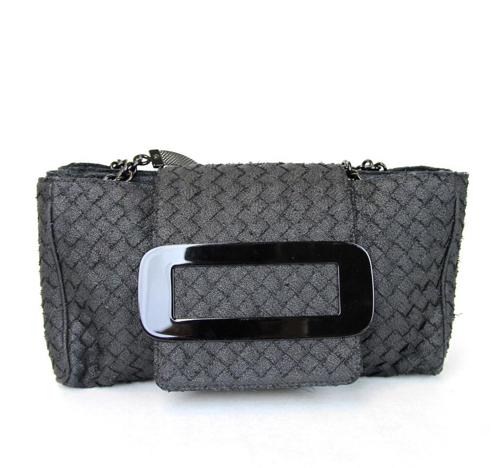 New Authentic BOTTEGA VENETA Intrecciato Tote Handbag, Black, 309348 1000  | eBay