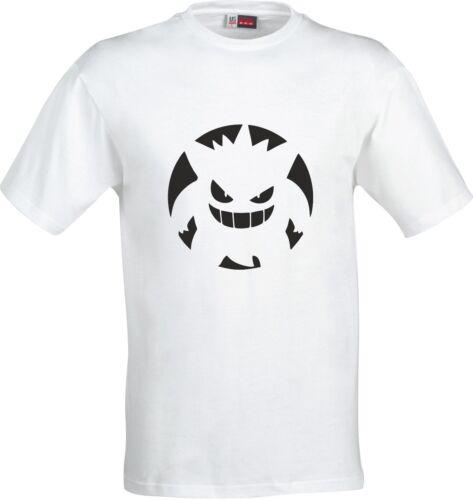 Pokamon Genga silhouette  childs t shirt spell 100/% cotton