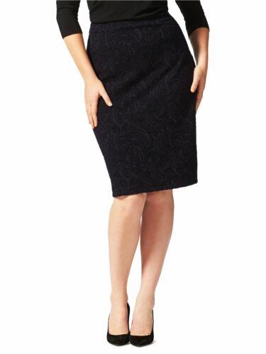 Ex Studio 8 Phase Eight Women/'s Mona Textured Pencil Skirt Size 16-24 RRP £59.00