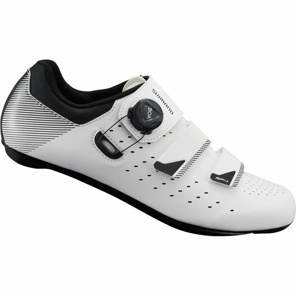 Shimano RP4 SPD-SL shoes, White, Size 45