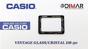 6a33fd9b7ad4 Image is loading GLASS-GLASS-CASIO-ORIGINAL-DB-50-NOS