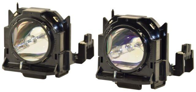 (Two Lamps) For Panasonic ET-LAD60W For PT-DZ6700/PT-DZ570U Projectors