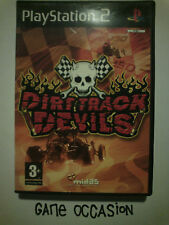 DIRT TRACK DEVILS PS2 PLAYSTATION 2 SONY COMPLET PAL