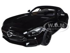 MERCEDES AMG GT S GLOSS BLACK 1/18 MODEL CAR BY AUTOART 76313