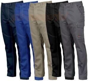 Payper Cargo Worker Coton Homme Pantalons Travail Ebay De qRw6X