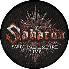 "SABATON AUFNÄHER / PATCH # 3 ""SWEDISH EMPIRE LIVE"""