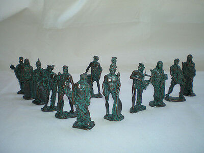 Olympus artifacts 12 Olympians Gods statue set from mythology cpr/gr