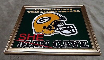 Falcons 49ers Bears Packers Cowboys Giants Patriots Eagles She Cave Framed Photo