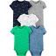 thumbnail 1 - Carters Bodysuits Baby Boys Short Sleeve, Sleeveless, Unisex Sets New