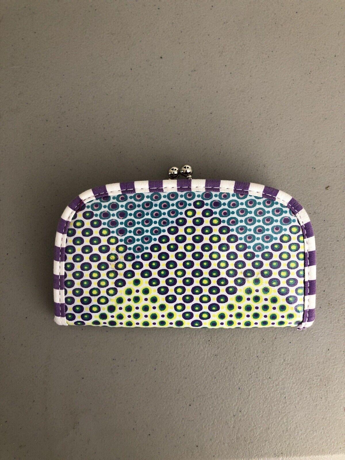 Lu Lu Wallet Multicolor Change Purse Clutch Lulu Free Shipping