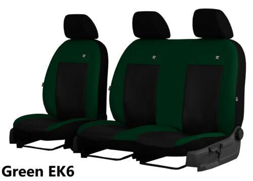 2012 2013 VAUXHALL VIVARO 2010 2014 ECO LEATHER TAILORED SEAT COVERS 2011