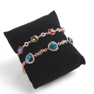 5pcs-Velvet-Pillow-Bracelet-Watch-Cushion-Display-Jewelry-Stand-Holder-Showcase