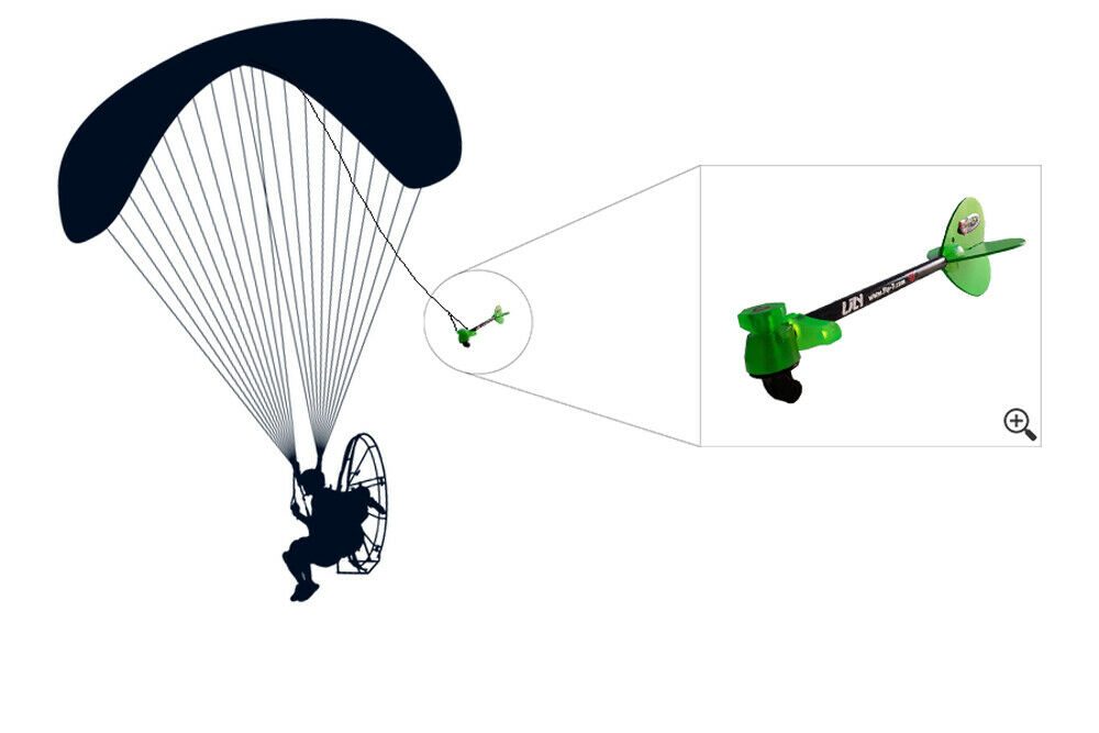 Details about  /Chase Cam LILY FLY-7 Paramotor Paragliding Trike Fly Paraglider