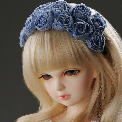 277 Dollmore Doll Accessory Headband  size MSD /& SD RRS Rose Hairband