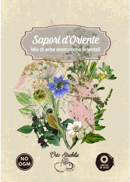 sapori d'oriente,mix erbe aromatiche orientali,semi rari,semi strani,
