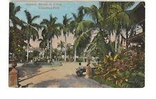 ca.1910 postcard- Habana: Parque de Colon, Columbus Park, Havana, Cuba