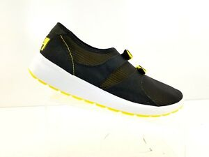 0528e7348374 Nike Air Sock Racer OG Running Shoes Black   Tour Yellow 875837 001 ...