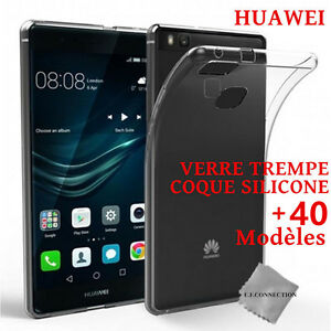 film protection vitre verre trempe huawei p20 p10 p9 p8 honor y5 coque etui tpu ebay. Black Bedroom Furniture Sets. Home Design Ideas