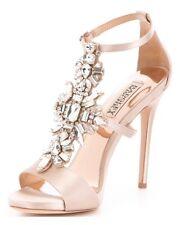 Badgley Mischka Heel- Basile Size 7.5 BRIDAL (retail 245) PROM