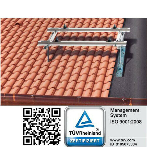 Universal Dachkonsole für KlimaanlagenSchrägdächer 10° bis 40°
